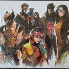 X-Men Blue Team Print by Artist Peter V. Nguyen (Signed)