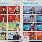 Show By Rock!! Uncut Card Sheet Set of 2