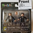 SDCC 2015 Exclusive Diamond Select Toys Gotham Before The Legend Minimates Gordon & Bruce Wayne
