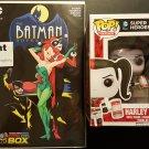 Batman Adventures # 12 Comic Con Box Exclusive NM & Funko Pop Harley Quinn Vinyl Figure Set