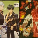 Gintama / Blood Blockade Battlefront Double-sided Poster / Pin-up