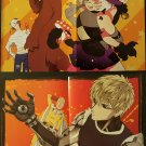 Gatchaman Crowds Insight / One-Punch Man Double-sided Poster / Pin-up