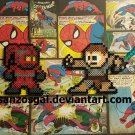 Star Wars 8-bit Legend perler bead dangler/magnet/ornament