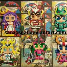 Saint Seiya Character perler bead magnet/ornament
