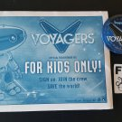 NYCC 2015 Random House Voyagers Official Recruitment Kit & Can Badge