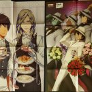 Uta no Prince-sama / Blood Blockade Battlefront Large Double-sided Pin-up / Poster