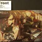 Attack on Titan Carddass Vol. 4 Clear Plate Shitajiki Bromide Eren Armin Mikasa Titan