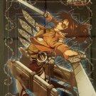 Attack on Titan Carddass Vol. 4 Clear Plate Shitajiki Bromide Zoe Hange