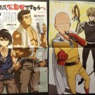 Mobile Suite Gundam Iron-Blooded Orphans / One-Punch Man Double-sided Poster / Pin-up