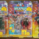 Ronin Warriors Action Figures by Playmates 1999 Set of 3