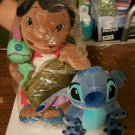 Disney Lilo & Stitch plush set Lilo & Scrump w/bag + 7 in. Stitch