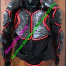 Hot Sell ! Black Red Gilet Jackets Protector Body Armor Motorcycle Gear Racing Armour With Tags