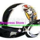P.05 ABS Half Bol Cycling Open Face Motorcycle White # Motor Girl Helmet Casco Casque & Goggles