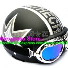 P.12 ABS Half Bol Cycling Open Face Motorcycle Matt Black # character Helmet Casco Casque & Goggles
