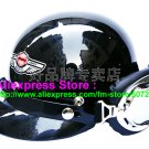 P.21 ABS Half Bol Cycling Open Face Motorcycle Black Helmet Casco Casque & Goggles