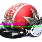 P.31 ABS Half Bol Cycling Open Face Motorcycle Matt Red # character Helmet Casco Casque & Goggles