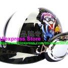 P.32 ABS Half Bol Cycling Open Face Motorcycle Black # Motor Boy Helmet Casco Casque & Goggles