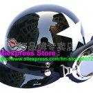 P.41 ABS Half Bol Cycling Open Face Motorcycle Black # White Star Helmet Casco Casque & Goggles