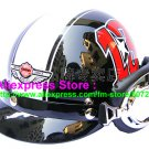 P.49 ABS Half Bol Cycling Open Face Motorcycle Black # Red 13 Helmet Casco Casque & Goggles