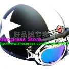 P.54 ABS Half Bol Cycling Open Face Motorcycle Matt Black # White Star Helmet Casco Casque & Goggles