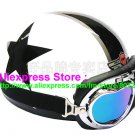 P.69 ABS Half Bol Cycling Open Face Motorcycle White # White Star Helmet Casco Casque & Goggles