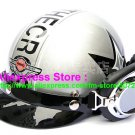 P.74 ABS Half Bol Cycling Open Face Motorcycle Silver # character Helmet Casco Casque & Goggles