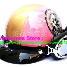 P.87 ABS Half Bol Cycling Open Face Motorcycle Pink # Motor pattern Helmet Casco Casque & Goggles