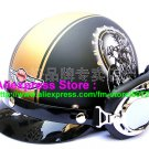 P.90 ABS Half Bol Cycling Open Face Motorcycle Matt Black # pattern Helmet Casco Casque & Goggles