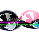 A.03- 2 Unit ABS Half Bol Vespa Cycling Open Face Motorcycle Black + Pink Helmets & Goggles