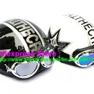 A.32- 2 Unit ABS Half Bol Vespa Cycling Open Face Motorcycle Black + White Helmets & Goggles