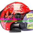 "New Germany ""Tanked 502"" Half Vespa Motorcycle Open Face Racing Cycling Red Helmet"