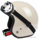 "H.04 Taiwan "" SYC "" ABS Motorbicycle Open Face Casco Motorcycle Full Khaki Helmet & UV Goggles"