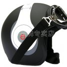 "H.126 Taiwan "" EVO "" Half Face Motorcycle "" e earphone HD"" Matt Black Helmet & UV Goggles"