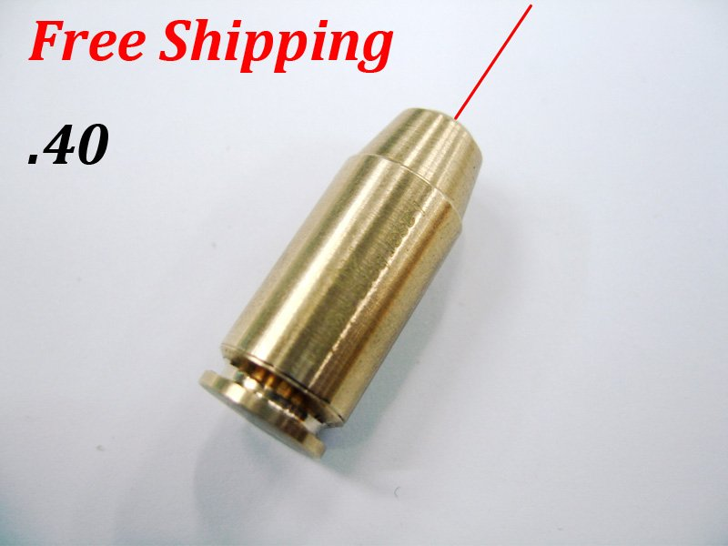 CAL: .40 Cartridge Bore Sighter Red Dot Laser Boresighter Sight Hunting Copper #02