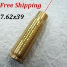 CAL:7.62X39MM Cartridge Bore Sighter Red Dot Laser Boresighter Sight Hunting Copper#07
