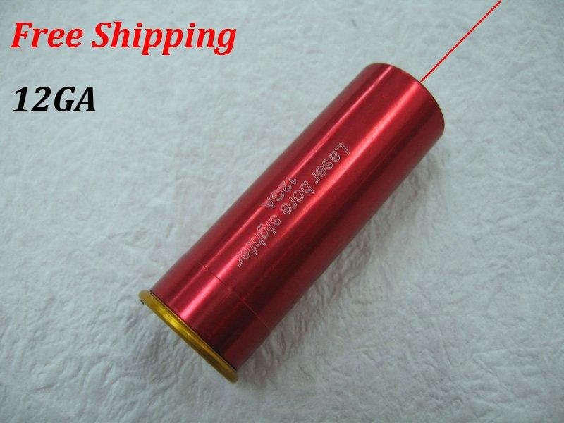 12GA New CAL:12.GAUGE Cartridge Bore Sighter Red Dot Laser Boresighter Sight Hunting #15