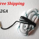 12GA Bore Snake Gun Cleaning 12 Gauge fit Shotgun Cleaner Hunting Rifle / Pistol #01