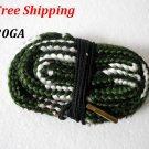 20GA Bore Snake Gun Cleaning 20 Gauge Brass Caliber Cleaner Hunting Shotgun #03