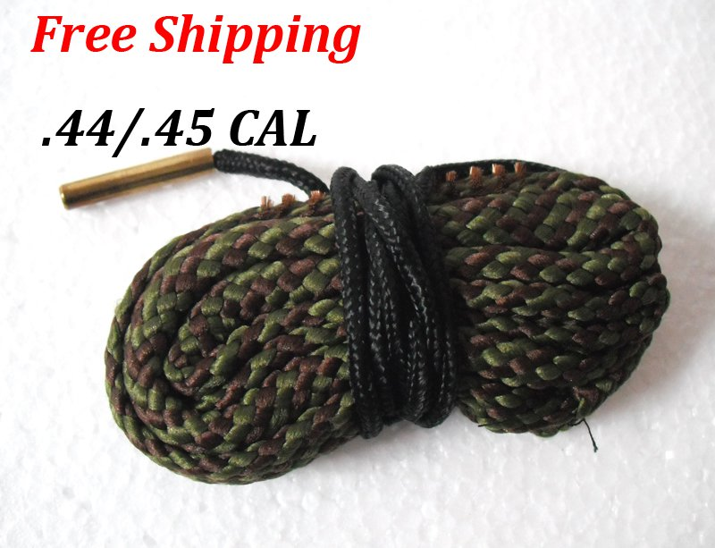 .44 / .45 CAL Bore Snake Gun Cleaning Brass Caliber Cleaner Hunting Rifle/Pistol #04
