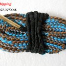 .35 / .357 .375 CAL Bore Snake Gun Cleaning Brass Caliber Cleaner Rifle/Pistol #05