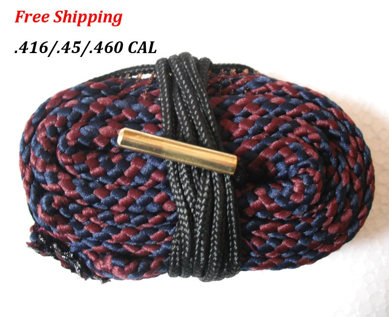 .416 / .45 / .460 CAL Caliber Bore Snake Gun Cleaning Shotgun Hunting Rifle/Pistol #10
