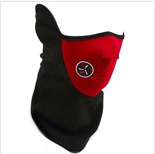 Ski Snowboard Bike Motorcycle face mask helmet Neck Warm Red Colour New