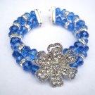 Pulsera Para Mujer De Crystal (PA002)(Blue)