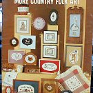 SPECIAL PRICE - Milly Smith's More Country Folk Art - Cross Stitch