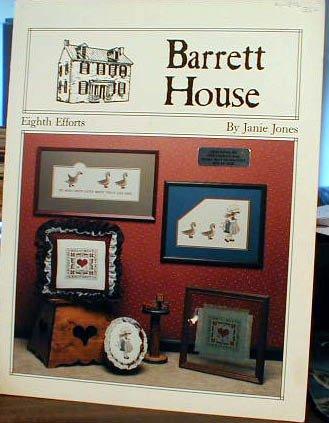 Barrett House Eighth Efforts - Cross Stitch