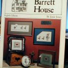 SPECIAL PRICE - Barrett House Eighth Efforts - Cross Stitch
