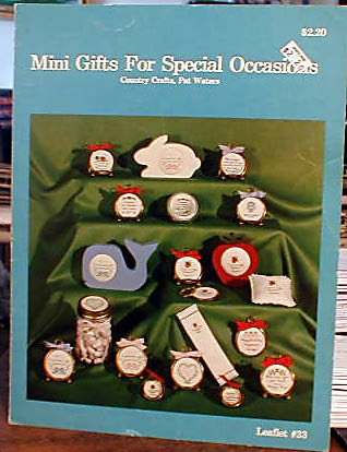 Mini Gifts for Special Occasions - Cross Stitch