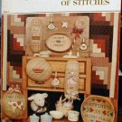 Country Is...A Basket Full of Stitches - Cross Stitch