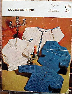 Double Knitting - Baby Coats to Knit and Crochet