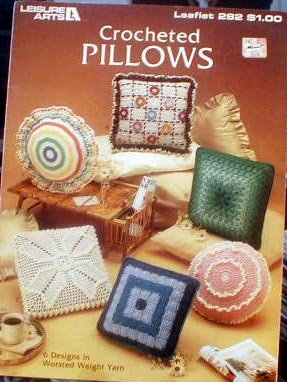 Crocheted Pillows - Patterns by Leisure Arts